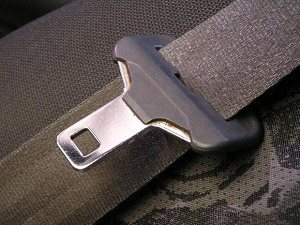 seatbelt with latch