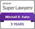 Mitchell R. Kahn Super Lawyers 5 Years